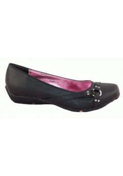 D1591 Girls School Shoes