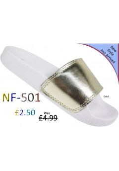 NF 501 Ladies Metallic slider Was £4.99 each + VAT now £2.50 each + VAT