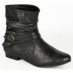 2504 flat black ankle boot Was £8.99 each Sale Price £7.99