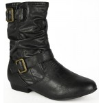 3219 flat black ankle boot Was £8.99 each Sale Price £7.99