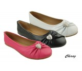 D3432 Girls dolly shoes