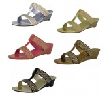 D4529 summer wedge sandal