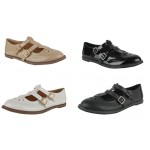 D4590 Ladies casual flat office brogue shoe