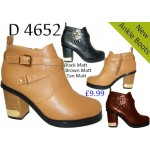 4652 block heeled chelsea boots £9.99 each