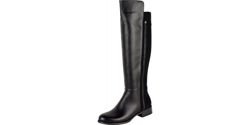 KNEE HIGH LOW RIDING BOOTS
