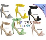 Frill high Heel sandals £11.99 each + VAT