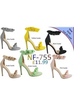 Frill high Heel sandals £11.99 each + VAT