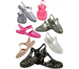 D4533 Flat jelly sandals shoes Kids UK3-6 Was £2.50 Now £1.99 each no vat