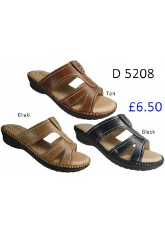 D 5208 Ladies Comfort Sandals £6.50 + VAT
