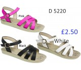 D 5220 Ladies Comfort Sandals £2.50 + VAT