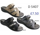 D 5407 Ladies Comfort Sandals £7.50 + VAT