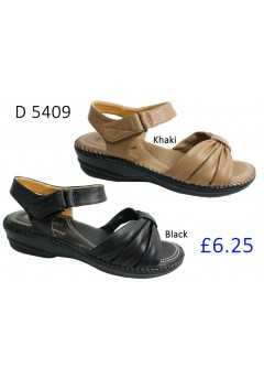 D 5409 Ladies Comfort Sandals £6.25 + VAT