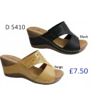D 5410 Ladies Comfort Sandals £7.50 + VAT