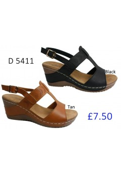D 5411 Ladies Comfort Sandals £7.50 + VAT