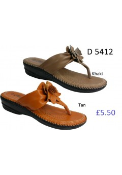 D 5412 Ladies Comfort Sandals £5.50 + VAT