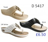 D 5417 Ladies Comfort Sandals £6.50 + VAT