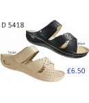 D 5418 Ladies Comfort Sandals £6.50 + VAT
