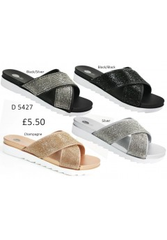 D 5427 Ladies Embellished sandals £5.50 + VAT