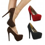 D3958 Platform high heeled shoes *SALE* Now £4.99