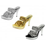 D4541 wholesale mid heeled diamante sandals £13.99 each
