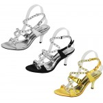 D4543 Ladies slingback sandals wholesale £10.99 each