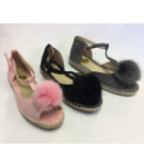 NF-773 Ladies espadrille sandals £7.50 each + vat