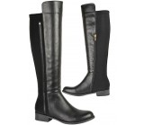 D4686 knee high low heeled riding boot £13.50 each