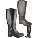 Leather riding boot with inside zip £9.99 each + VAT