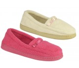 5114 Ladies Terry Towelling padded slippers was £2.50 each now £2.30 + VAT