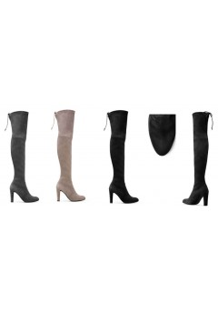NF 1100 Over the Knee Hi Heel Lace Up Pointy Boot, £18.99 each +VAT