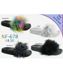 NF 678 Ladies Long Fur slider £4.50 each  + VAT