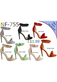 NF 755 Frill high Heel sandals £11.99 each + VAT