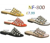 NF-800 Ladies studded slider £7.99 each + VAT