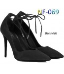 NF 069 Ladies Faux Suede Pointy Tie-up Shoes  £10.99 each + VAT