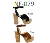NF- 079 Faux Suede Cork Heel  platform shoes £11.99 each + vat