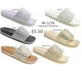 NF-1278 Ladies Diamante Slider  £5.50 + VAT