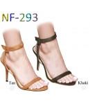 NF 293 Ladies Mid-Heel Faux Suede sandals £9.99 each + VAT