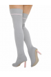 NF 166 Over Knee Hi Heel Knit Sock boot,  £8.99 each +VAT