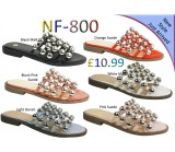 NF-800 Ladies studded slider £10.99 each + VAT