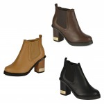 4650 mid heeled chelsea boots Was £9.99 each Sale Price £7.99