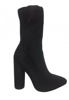 NF-887 Stretch Ankle boot with cylindrical heel  £10.99 each +VAT