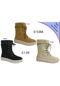 D 5384  Ladies Mid calf  winter boots