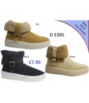 D 5385  Ladies Ankle winter boots
