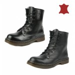 Wholesale leather martin style lace up boots £11.99 each