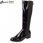 D3945 Low heeled elasticated riding boot £9.99