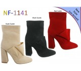 NF 1141 Ruche Suede  Ankle Boot, £16.50 each +VAT