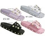 NF-1281 Ladies Embellished Satin Slider  £5.50 + VAT