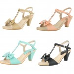Wholesale clearance pack 6 (Mid Heeled Sandals) 31 pairs