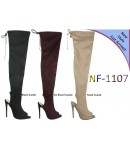 NF 1107 Over the Knee Hi Heel Open Toe Boot, £18.99 each +VAT