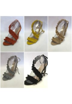 NF 964 Ruffle high Heel sandals £11.99 Now £9.99 each + VAT